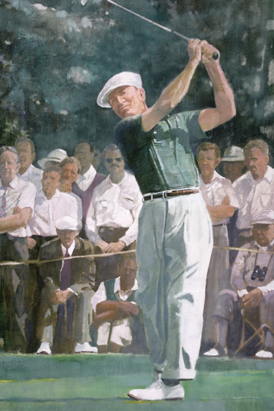 Walt Spitzmiller Art Spirit And Heroes Of Golf