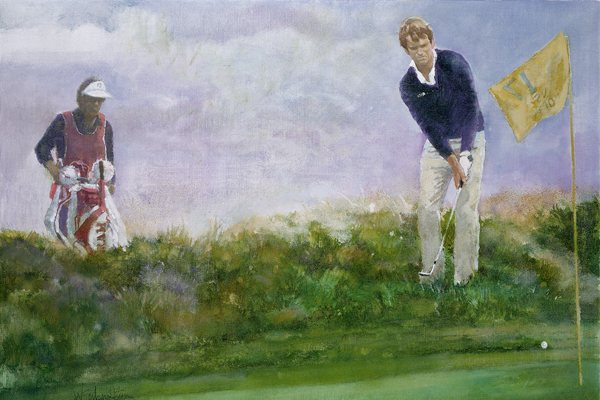 Walt Spitzmiller Art | Spirit And Heroes Of Golf